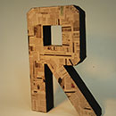 Alphabet Sculpture