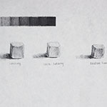 Tonal Values & Sugar cube