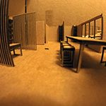 Renovation Project Office Model Interior