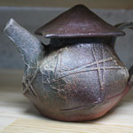 Wood fire teapot