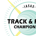 IASAS TRACK AND FIELD LOGO