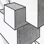 Perspective Cube Drawing