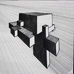 Merging cube drawing