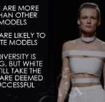 BIASED INFOGRAPHIC- RACIAL DIVERSITY ON THE RUNWAY