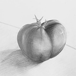 Sketch/Light Study - Tomato