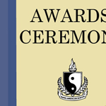 Award Ceremony Cover Design
