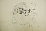 Continuous Contour Line Face Drawing