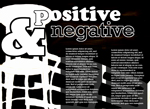Positive and Negative magazine