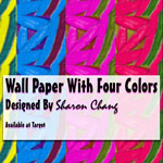 Wall Paper With Four Colors