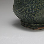 Ceramic Bowl Fake-Ash Green