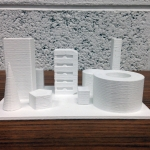 3D Printed Building - Front