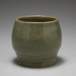 Gray-Green Pot
