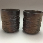 3D Printed Cups (Woodfired)
