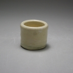 Wheel Thrown small clear glazed cup