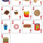 Fast Food Playing cards