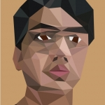 Low Polygon Portrait