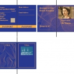 British Passport Redone