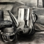 Reflective Metal Drawing
