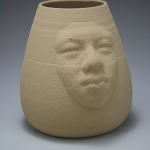 3D Merged Portrait Vase