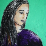 Oil Pastel Portrait