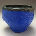 Blue Patterned Cup