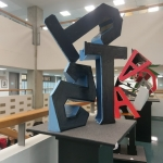 Alphabet Sculpture Collaborative Project