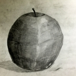 Apple Cross Hatching