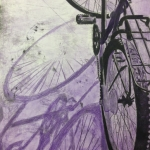 Watercolor Bicycle Print