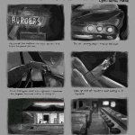 Storyboard Concentration B&W