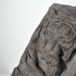 Tiger Relief Sculpture - Breadth 1