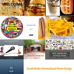 Social Media Project for International Food Fair