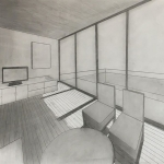 Interior Two Point Perspective