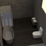 B.R. Bathroom Render