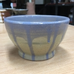 Blueberry Ice Cream Bowl (Front View)