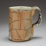 Fired again yellow pattern Mug