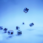 Dice Fall (Substitute for tin can pic)