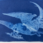 Cyanotype Hybrid Animal