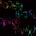 Light Painting - Letters