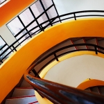 spiral staircase lines