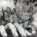 Dry Point Etching Foreshortening Gamer