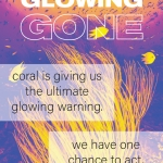 glowing glowing gone poster
